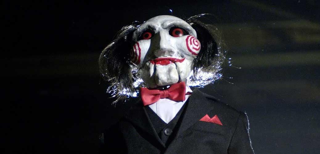 Skurken Jigsaw i «Saw»-filmene.