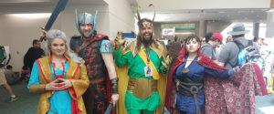 Slik var første dagen på Comic-Con